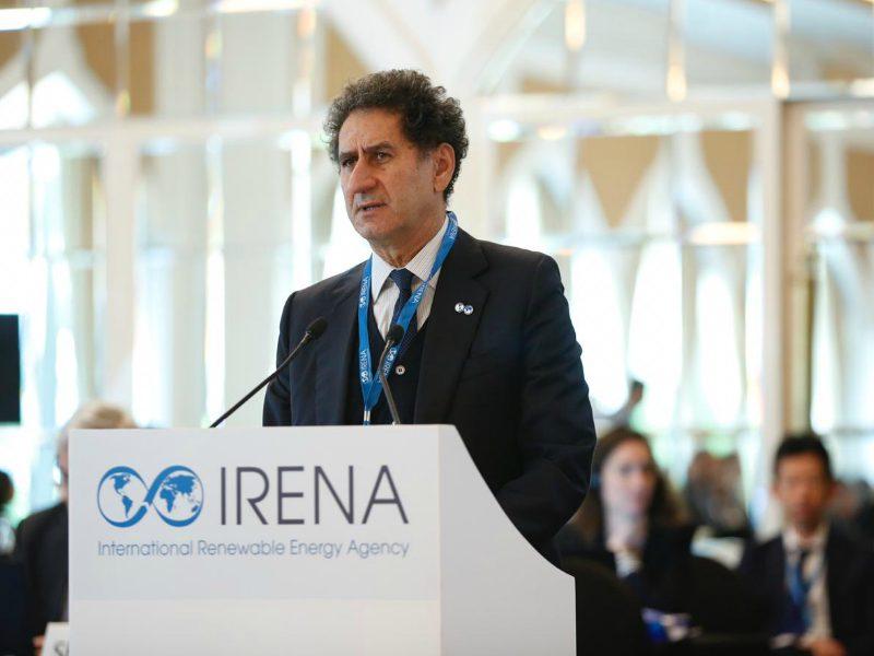Francesco La Camera directeur général IRENA