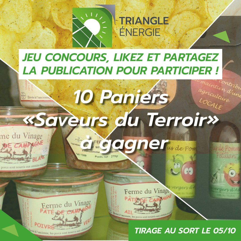 Concours Facebook Triangle Energie