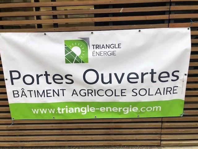 Portes ouvertes bâtiment agricole solaire Occitanie