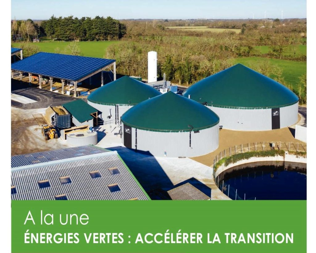 Energies vertes accélérer la transition