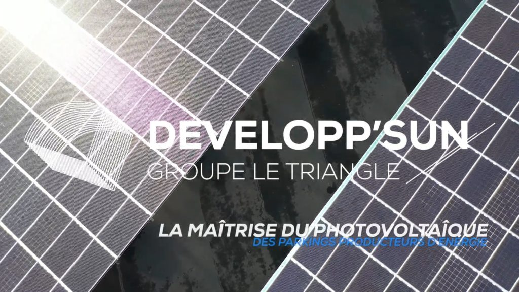 DeveloppSun | Ombrières et champs solaires clés en main