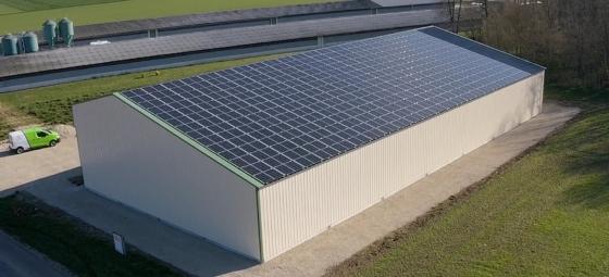 Solaire 500 kWc