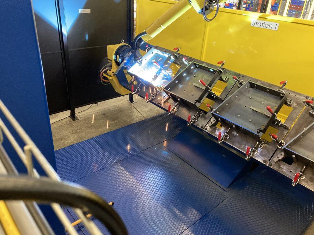 Robot de soudure pour charpente métallique | Ateliers de Triangle Énergie