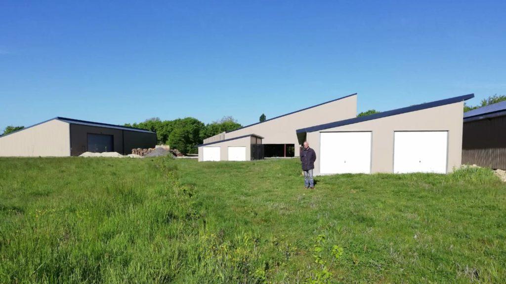 Jacques Charlot et ses hangars solaires