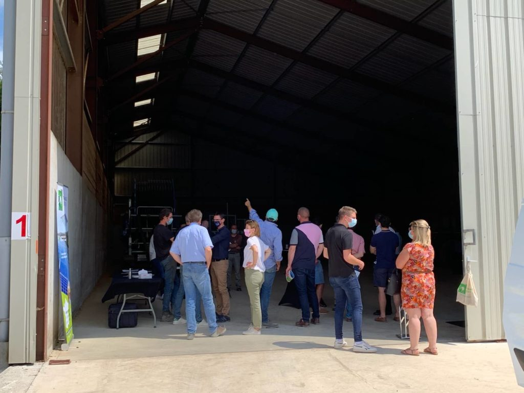 Visite bâtiment agricole photovoltaïque